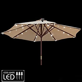 Gemmy Patio Umbrella Solar LED Lights - - Amazon.com
