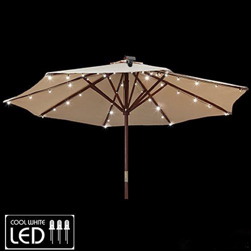 Gemmy Patio Umbrella Solar LED Lights