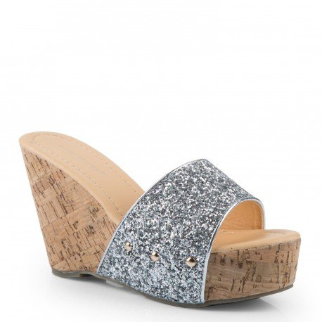 ideal-shoes-wedge-mules-and-strassees-telia-silver-size-6