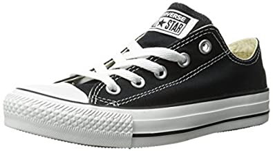 Converse Chuck Taylor All Star Core Ox, Baskets mode mixte adulte -Noir, 37.5 EU