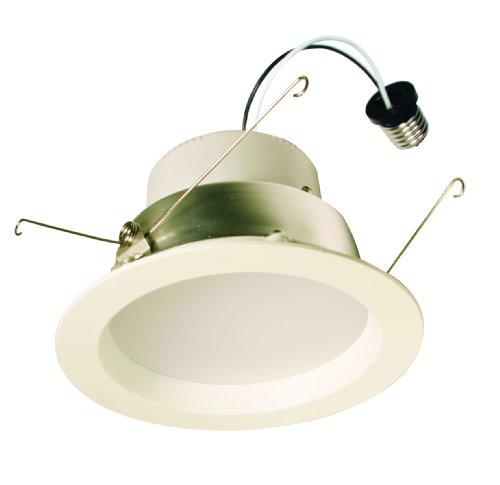 American Lighting E6-E26-30-Wh E Series White Recessed Led Ceiling Light Fixture, 6-Inch
