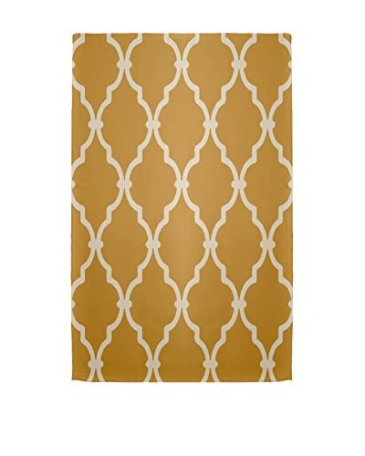 e by design Palace Rug, Gold/Ivory