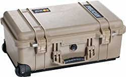 Pelican 1510 Case with Foam for Camera (Desert Tan)
