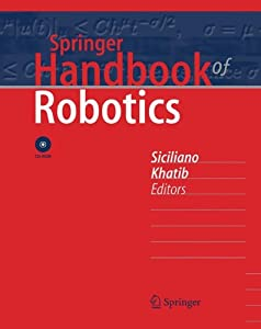 Springer Handbook of Robotics from Springer