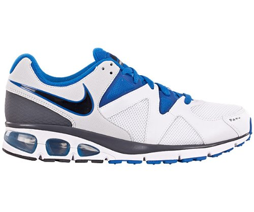 Nike Air Max Turbulence +17 Mens White & Blue Sports Trainers UK 6