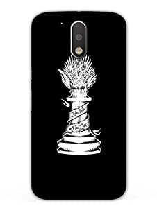 Moto G4 Back Cover - Game Of Thrones - You Win Or You Die - Designer Printed Hard Shell Case