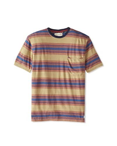 French Connection Men's Loose Weave Stripe Fc-Dean Shirt