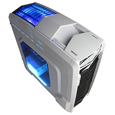CyberPowerPC Gaming desktop GUA 880 (black/blue)