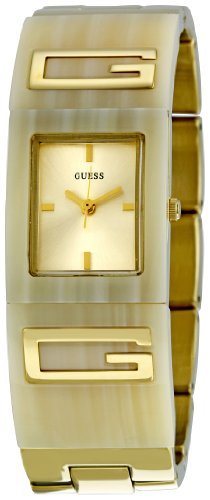 GUESS Women's W12107L2 Flair Champagne Dial Watch