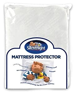 Silentnight Luxury Quilted Mattress Protector - Single / Double / King by Silentnight