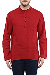 Indus Route by Pantaloons Men's Cotton Kurta 205000005638375_ Size_Small
