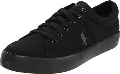 the best attitude ebf97 2d4b3 超赞)拉夫劳伦Polo Ralph Lauren Men s Bolingbrook Canvas Sneaker红色
