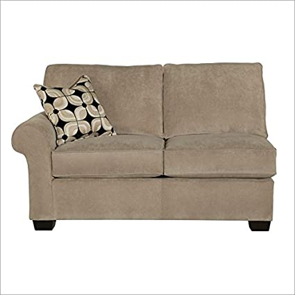Broyhill Ethan Left Arm Facing Loveseat, Beige