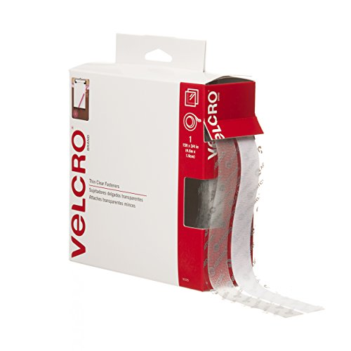 VELCRO – Sticky Back – 15′ x 3/4″ Tape – Clear