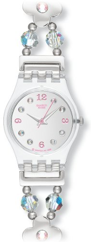 Swatch Ladies First Romance Stainless Steel Bracelet Watch
