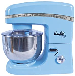 Walls Ice Cream Stand Mixer, Blue from Benross Group