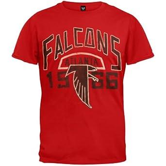 Atlanta Falcons - Kick-Off Soft T-Shirt Red by Junk Food