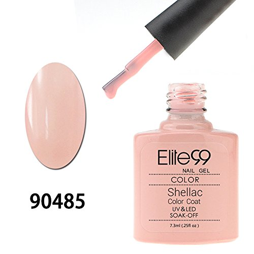 Elite99 Smalto UV LED Colore Gel Semipermanente 7.3ml Nude