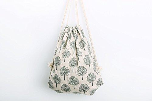 Genieen-Strandtaschen-Beutel-Turnbeutel-Tasche-Tte-Rucksack-Hipster-Jutebeutel-fr-Reisen-Wandern-Design