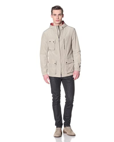 Allegri Men's Caban Jacket with Removable Lining