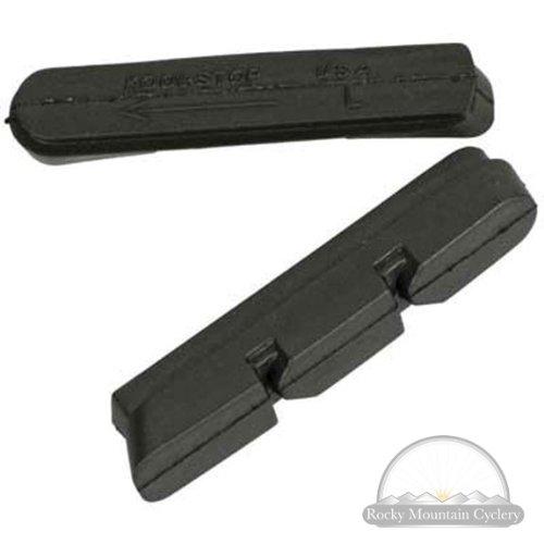 Buy Low Price Kool Stop Campy 2000 Brake Pad Inserts (Carbon no 2) (KS-C2CF2)