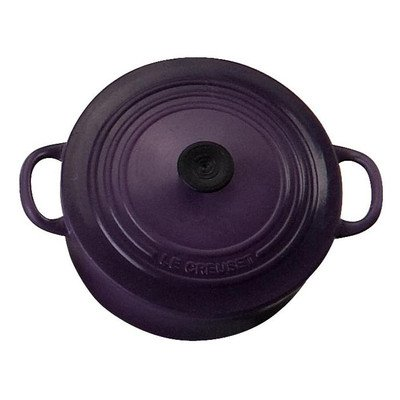 Le Creuset Round French Oven Magnet, Cassis