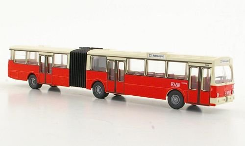 Mercedes-O-305-Gelenkbus-Modellauto-Fertigmodell-Wiking-PMS-187
