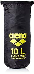 Arena Dry 10 LT Bag, (Black/Yellow)