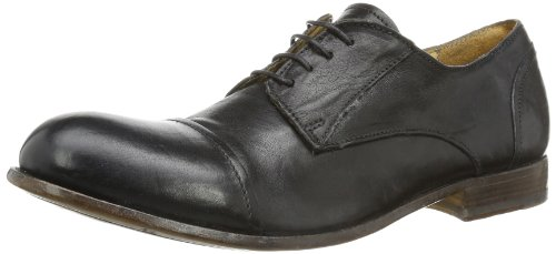 MOMA Mens derby pointed Casual Black Schwarz (nero) Size: 9 (43 EU)