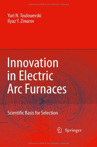 Innovation in Electric Arc Furnaces: Scientific Basis for Selection - Springer - 364203800X - ISBN:364203800X