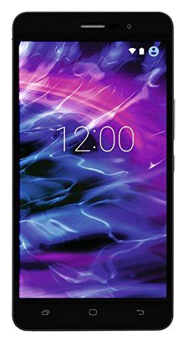 MEDION S5504 Smartphone (13,97 cm (5.5 Zoll) HD Touchscreen-Display, LTE, 13 Megapixel Rückkamera, 8 Megapixel Frontkamera , Octa-Core-Prozessor, Dual-SIM, 32 GB , Android Lollipop 5.1) schwarz