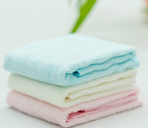 Baby Bamboo Fiber High Quality Soft Towel,bath Towel (pink 10.23