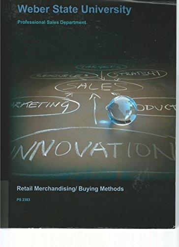 Retail Merchandising/Buying Methods (Retail Buying And Merchandising compare prices)