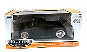 Amazon.com: Bigtime Muscle: 1956 Ford F-100 Pickup 1/24