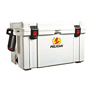 Pelican ProGear 65 Quart Elite Marine Cooler White by Pelican
