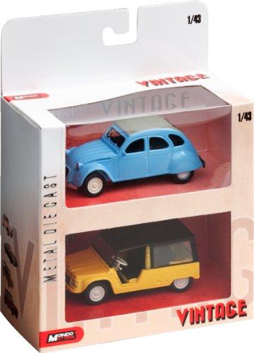 mondo-motors-53181-vehicule-miniature-set-2-pieces-vintage-echelle-143-assortiment