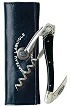 Hot Sale Chateau Laguiole Waiter's Corkscrew, Black Horn