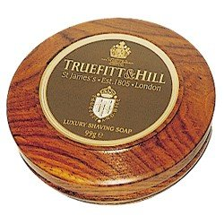 Luxury Shaving Soap in Wooden Bowl 99g
