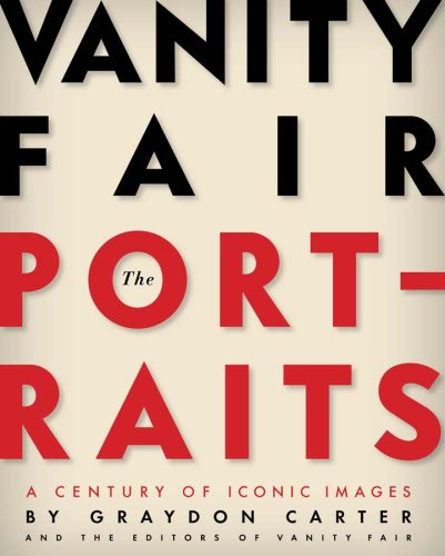 Book cover of Vanity Fair, The Portarits