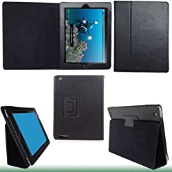 NEEWER® BLACK FAUX LEATHER CASE FOR IPAD 2