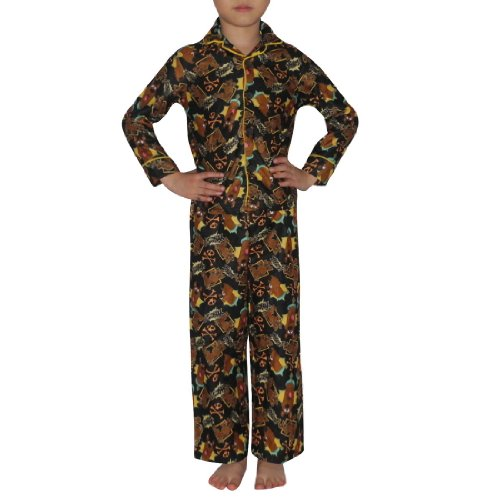 2 PCS SET: Boys Or Girls Scooby Doo Fleece Sleepwear Pajama Top & Pants Set
