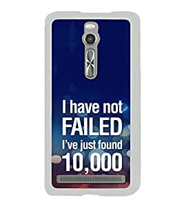 ifasho quotes on success Back Case Cover for Asus Zenfone 2