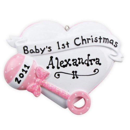Personalized Baby Rattle front-1041885