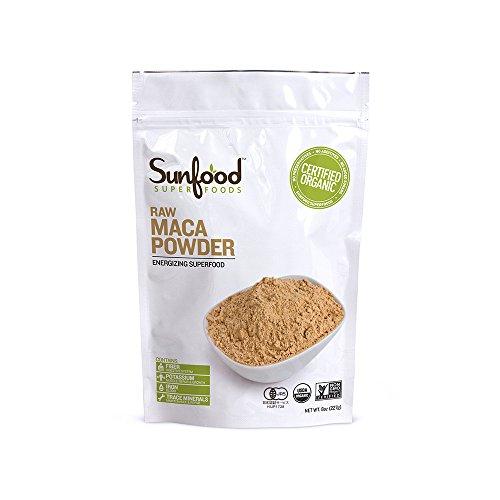 Sunfood Organic Maca Powder -- 8 Oz