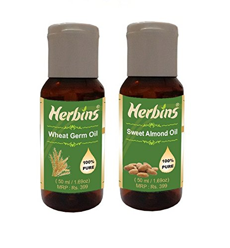 Herbins Essential Oil Combo(Wheatgerm & Sweet Almond)
