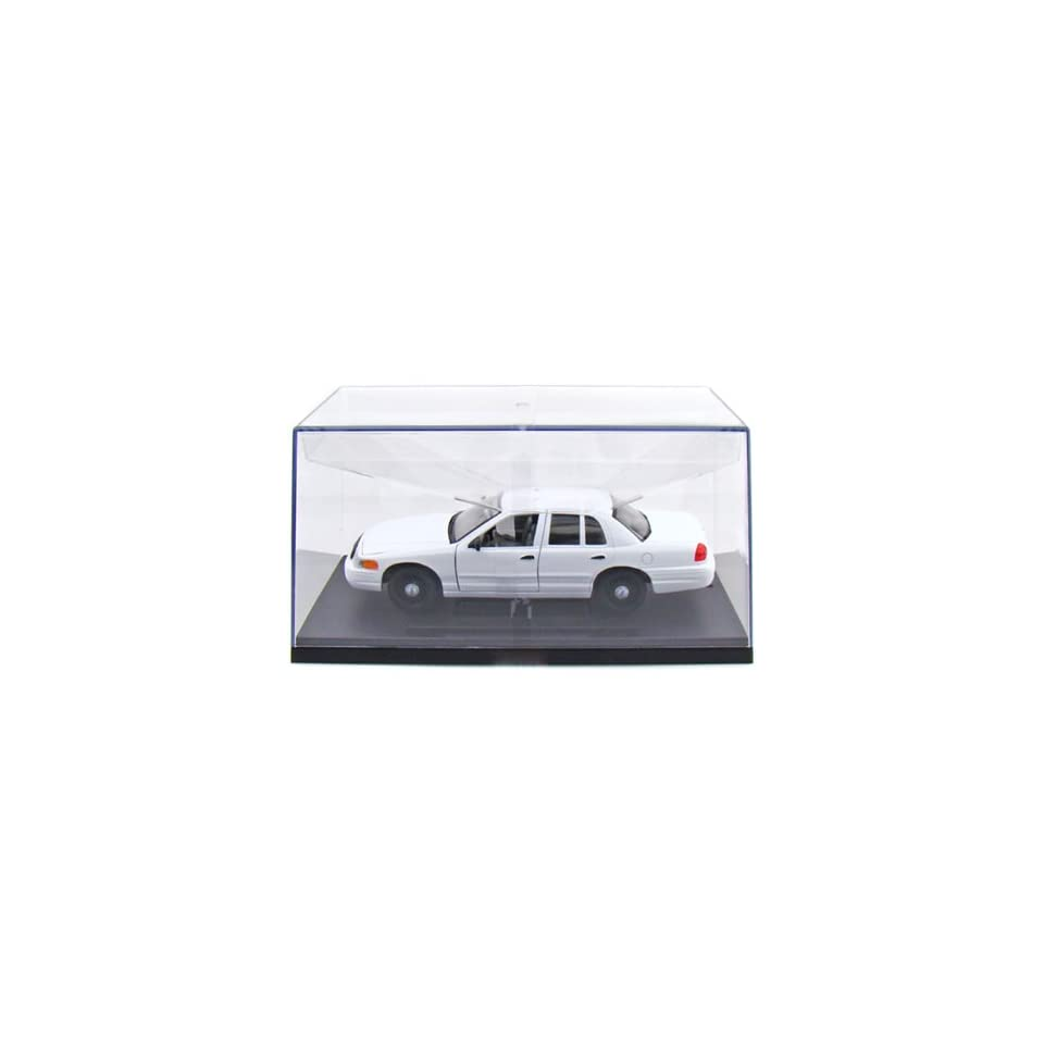 1999 Ford Crown Victoria Blank Police Car 1/27 (All White)