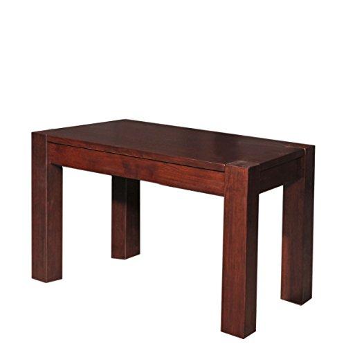 1613.1 Massivholz Sitzbank Malia B, 45 x 60 x 38 cm, Asiatische Eiche, gebeizt und lackiert, nussbaum dunkel