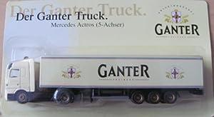Ganter Nr.01 - Privatbrauerei Ganter Freiburg - MB Actros - Sattelzug