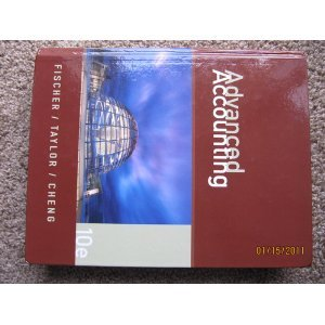 Advanced Accounting 10th (Tenth) Edition byFischer (Advanced Accounting 10th compare prices)