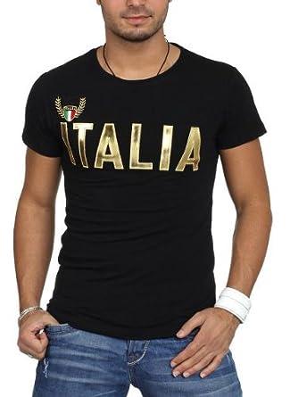 T-Shirt Blue Bery Italia (L, Noire)